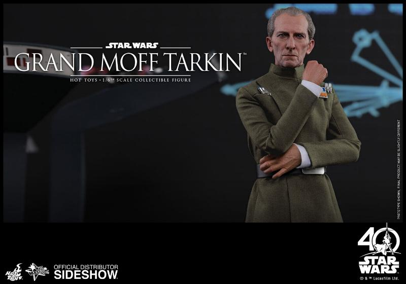 Hot Toys Star Wars - Grand Moff Tarkin Sixth Scale Figure Grand-14