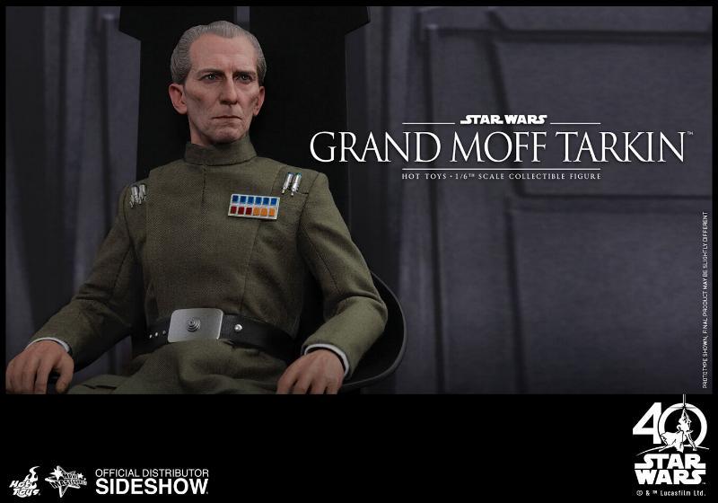 Hot Toys Star Wars - Grand Moff Tarkin Sixth Scale Figure Grand-16