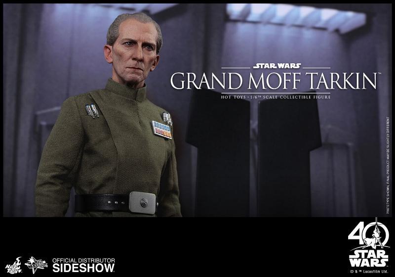 Hot Toys Star Wars - Grand Moff Tarkin Sixth Scale Figure Grand-17