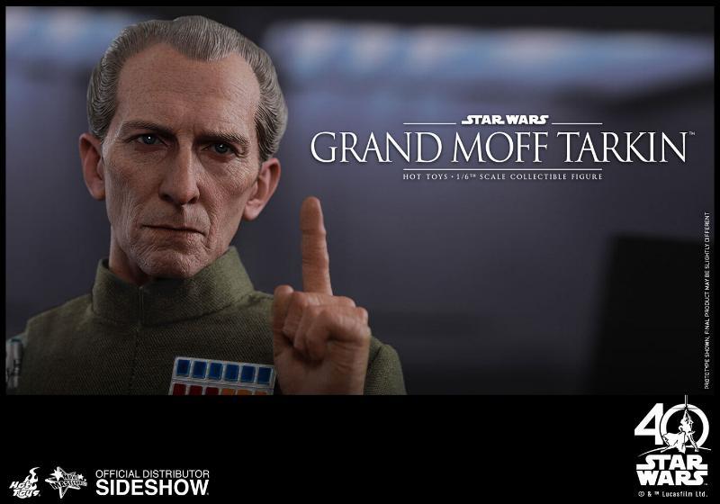 Hot Toys Star Wars - Grand Moff Tarkin Sixth Scale Figure Grand-18