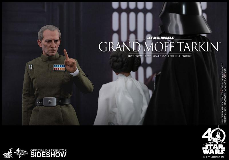 Hot Toys Star Wars - Grand Moff Tarkin Sixth Scale Figure Grand-21