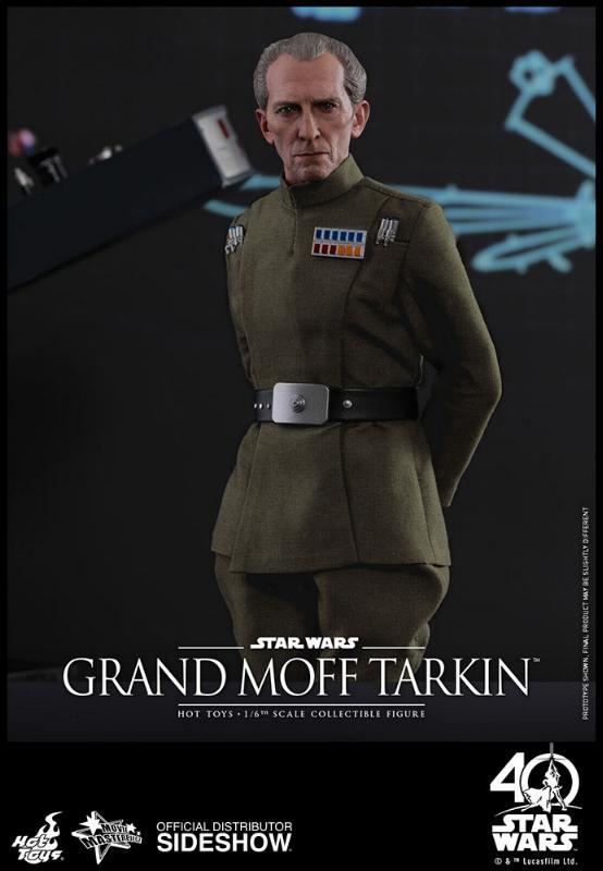 Hot Toys Star Wars - Grand Moff Tarkin Sixth Scale Figure Grand-23