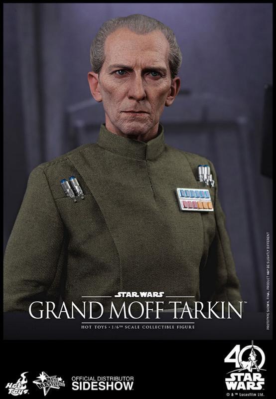 Hot Toys Star Wars - Grand Moff Tarkin Sixth Scale Figure Grand-24