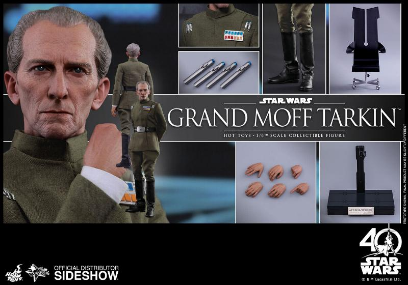 Hot Toys Star Wars - Grand Moff Tarkin Sixth Scale Figure Grand-25