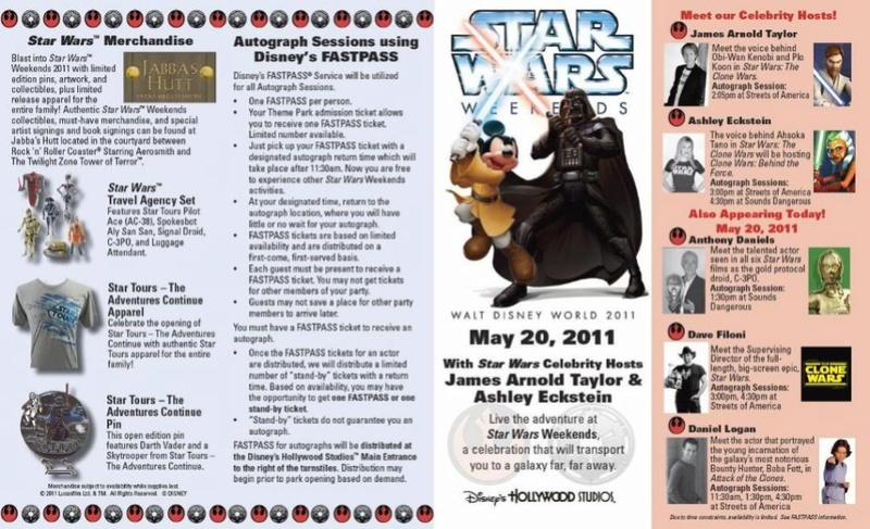 Disney - Star Wars Weekends 2011  Guide010