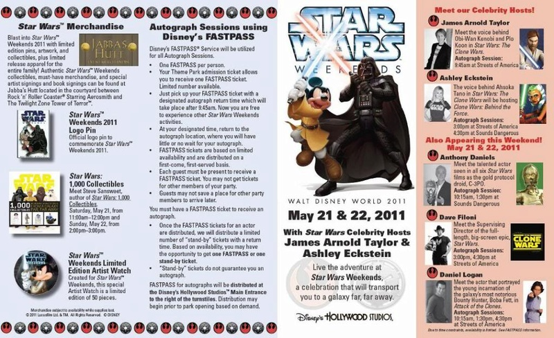 Disney - Star Wars Weekends 2011  Guide011