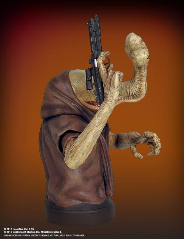 Gentle Giant - HAMMERHEAD - Mini Bust Hammer13