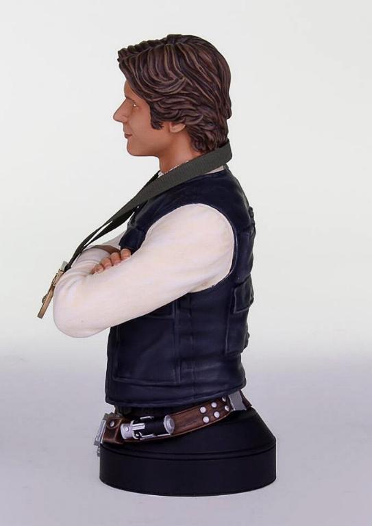 Gentle Giant - Han Solo Hero of Yavin Mini Bust Han-so11