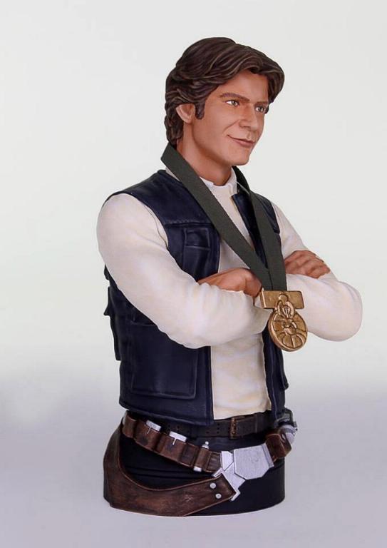 Gentle Giant - Han Solo Hero of Yavin Mini Bust Han-so16