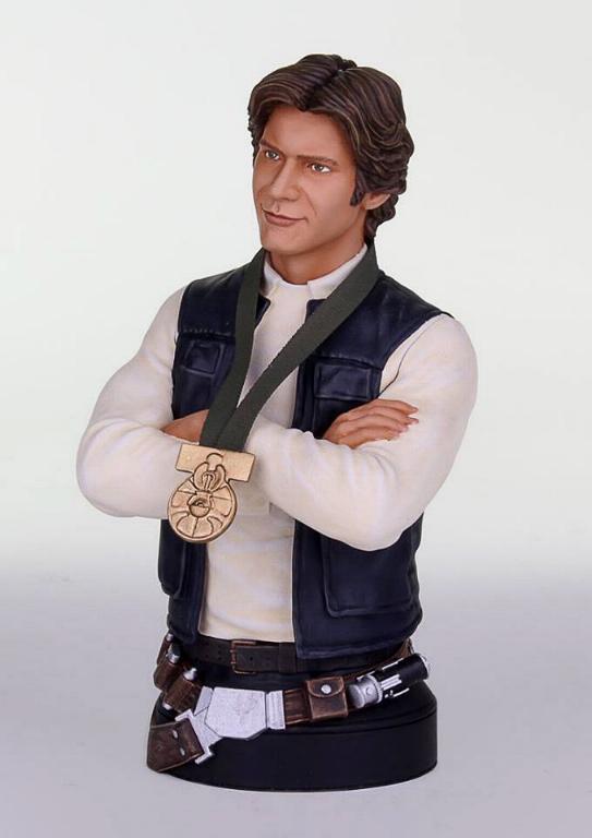 Gentle Giant - Han Solo Hero of Yavin Mini Bust Han-so17