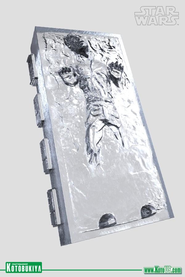 Kotobukiya - Han Solo Carbonite - Silicone Ice Tray Han-so19