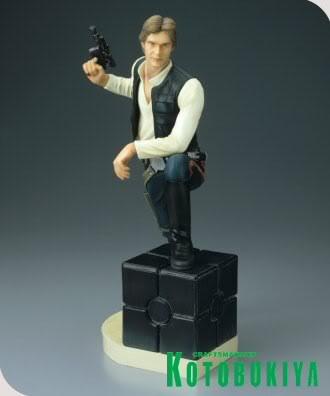 Kotobukiya - Han Solo ARTFX Statue Han-so20