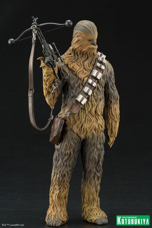 Kotobukiya - The Force Awakens Han & Chewbacca ARTFX+ Pack  Hanche16