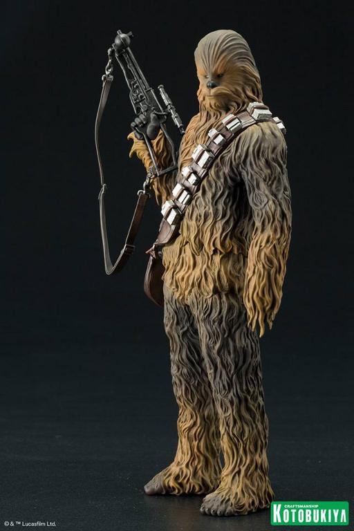 Kotobukiya - The Force Awakens Han & Chewbacca ARTFX+ Pack  Hanche17