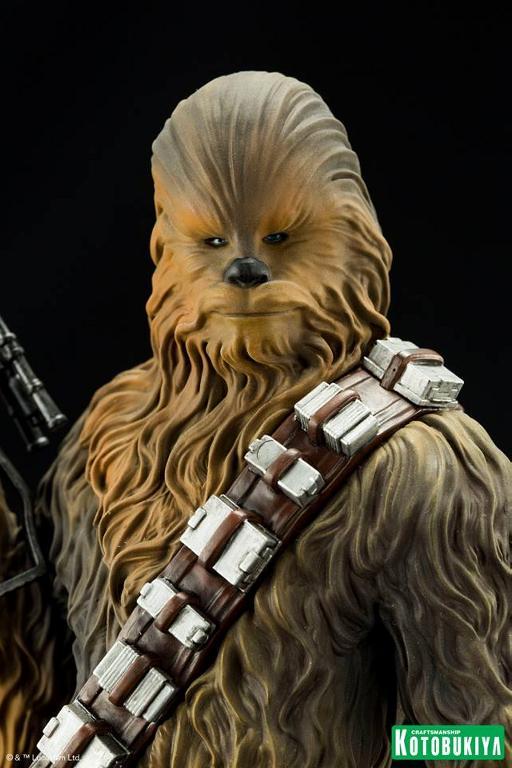 Kotobukiya - The Force Awakens Han & Chewbacca ARTFX+ Pack  Hanche19