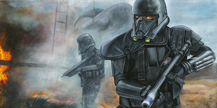 Artwork Star Wars Rogue One - ACME - Hostile Extraction Hostil10