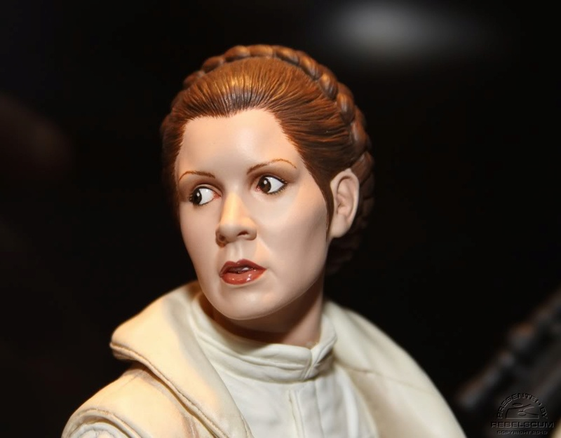 Gentle Giant - Hoth Leia Mini Bust Sneak Peek Hothle11