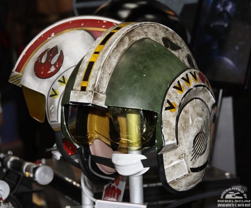 Efx - Wedge Antilles X-Wing Pilot  Helmet Img_0311