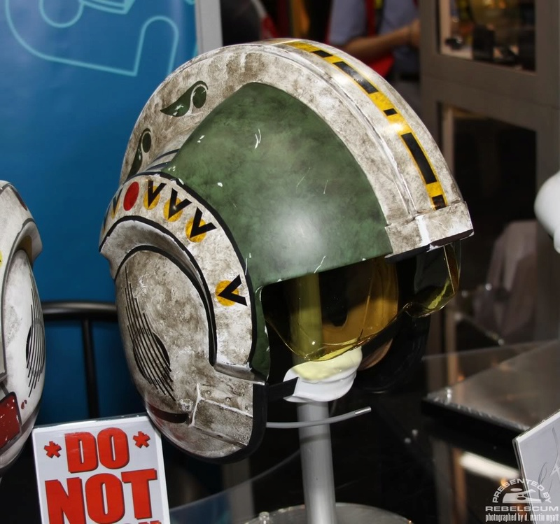 Efx - Wedge Antilles X-Wing Pilot  Helmet Img_0312
