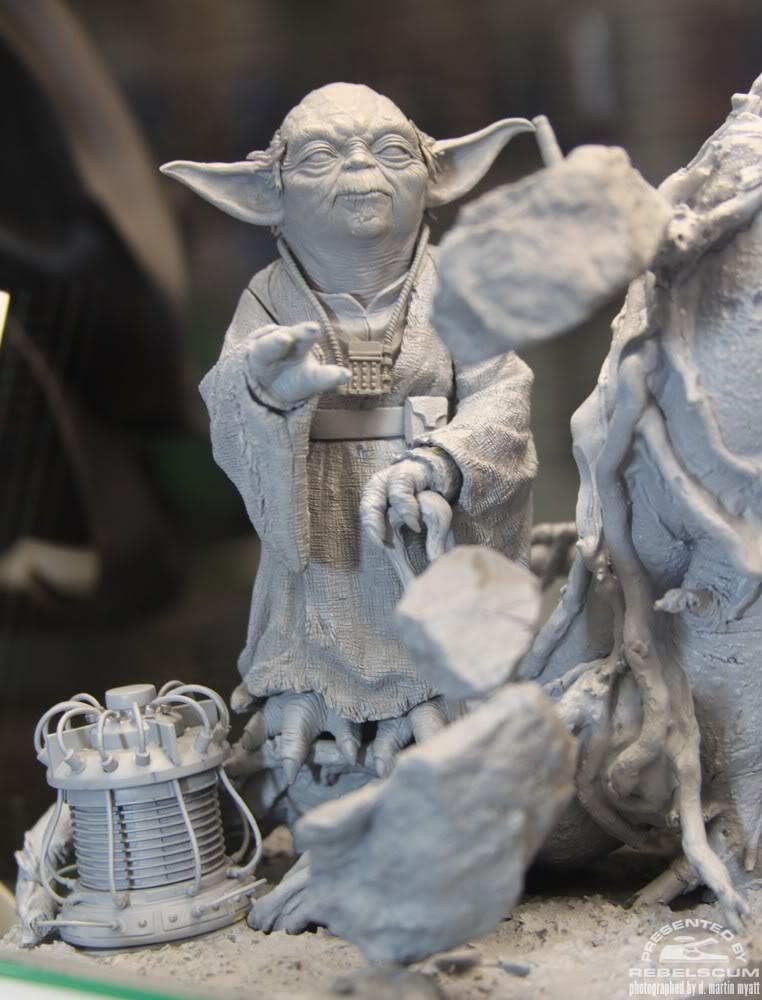 Kotobukiya - Yoda on Dagobah - ARTFX Img_1014