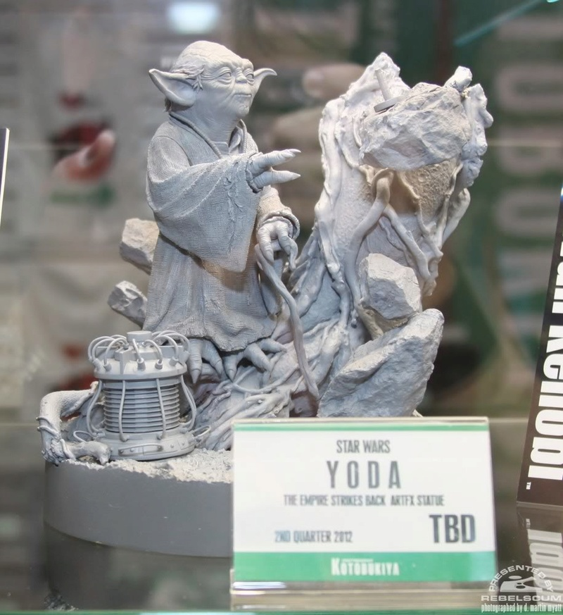 Kotobukiya - Yoda on Dagobah - ARTFX Img_1018