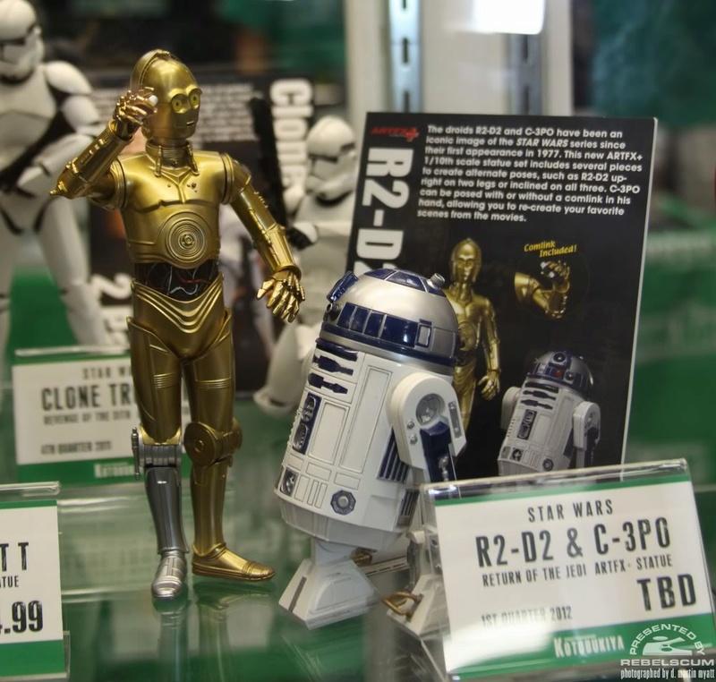 Kotobukiya - C-3PO & R2-D2 Two Pack - ARTFX+  Img_1022
