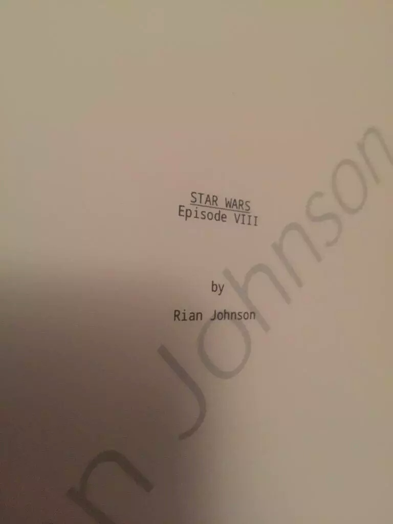 8 - Les NEWS Star Wars Episode VIII - The Last Jedi Img_2011