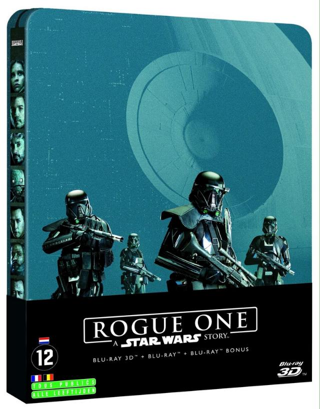 Rogue - DVD Blu Ray Star Wars Roque One Img_2012