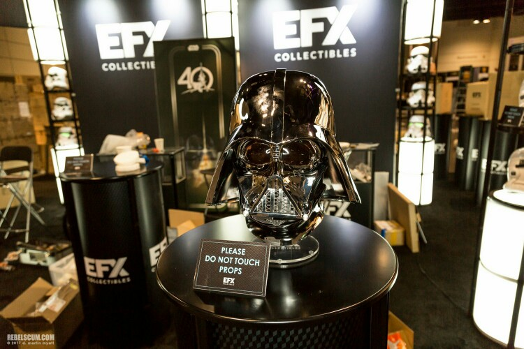EFX Collectibles Exclusive Chrome Darth Vader Helmet Img_2041
