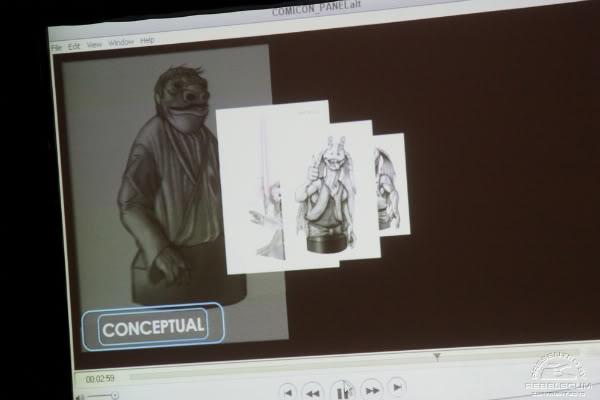 San Diego Comic-Con : Gentle Giant Panel Img_2313