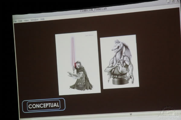 San Diego Comic-Con : Gentle Giant Panel Img_2314