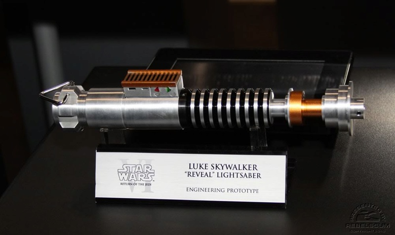 "Efx - Luke Skywalker ""reveal"" lightsaber - ROTJ Img_3910"
