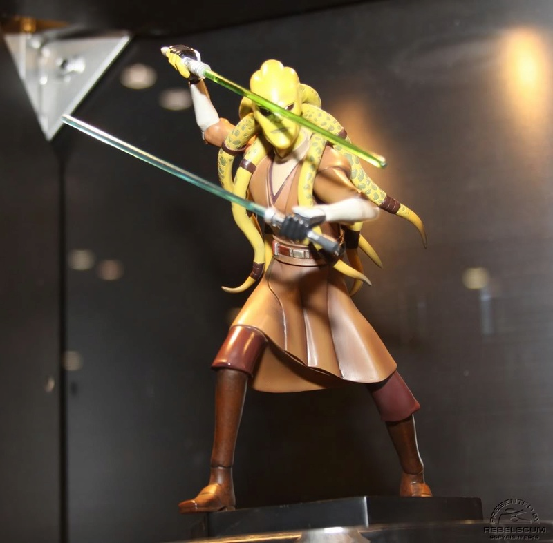 Gentle Giant - CW Kit Fisto Animated Maquette Img_4513