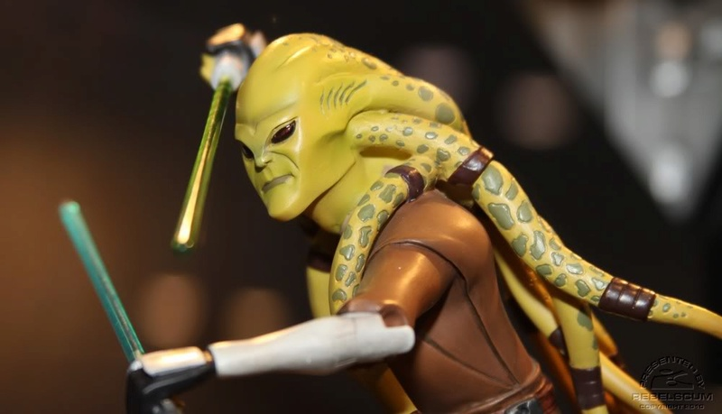 Gentle Giant - CW Kit Fisto Animated Maquette Img_4514