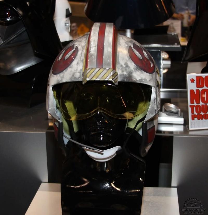 Efx - Luke Skywalker X-Wing Starfighter helmet Img_4614