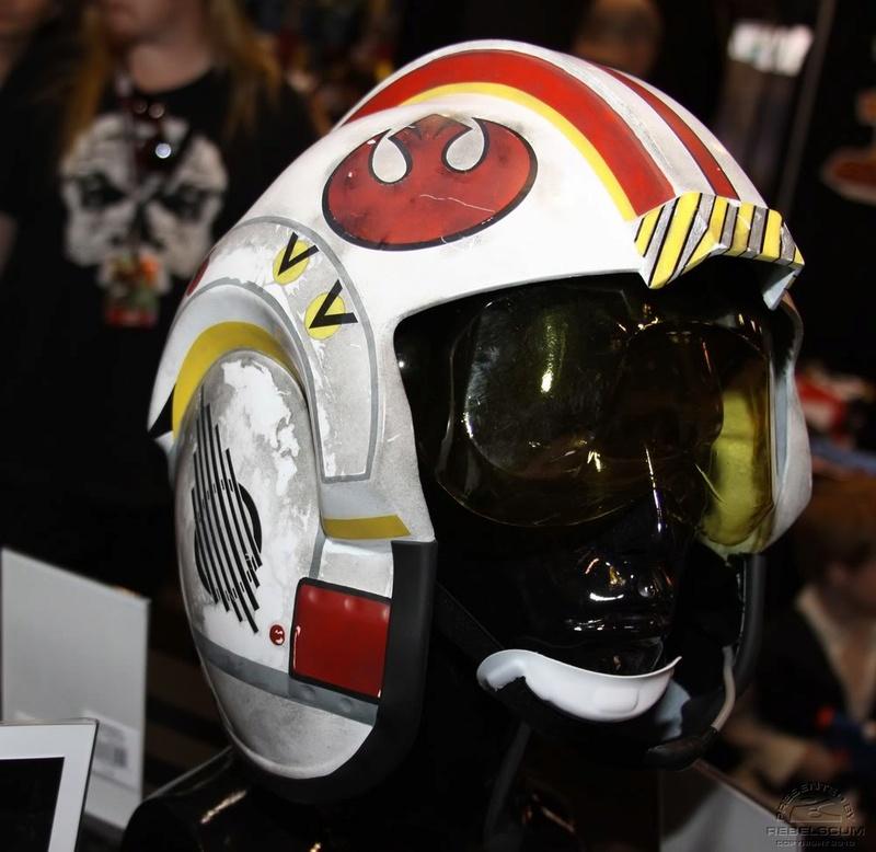Efx - Luke Skywalker X-Wing Starfighter helmet Img_4719