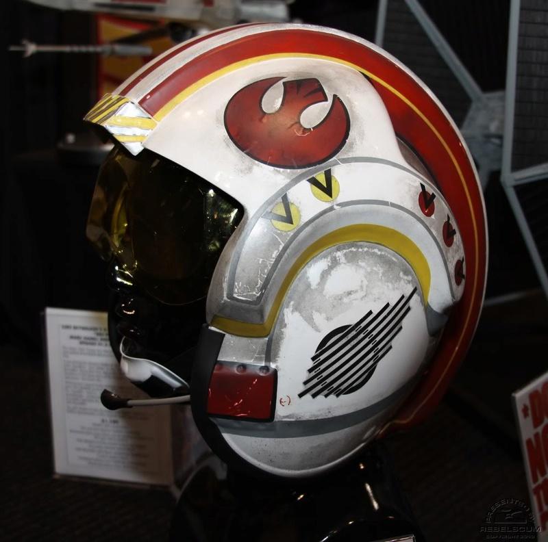 Efx - Luke Skywalker X-Wing Starfighter helmet Img_4720