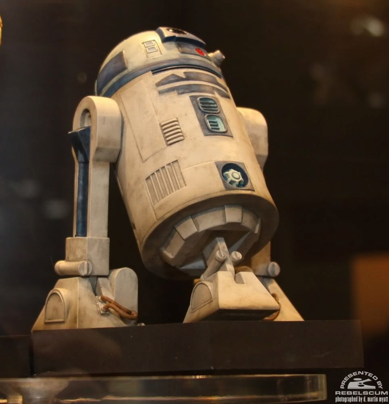 Gentle Giant - R2-D2 Clone Wars Maquette Img_9730