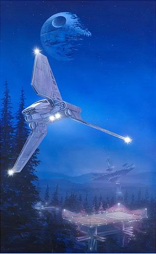 Artwork Star Wars - ACME - Imperial Forest Imperi10
