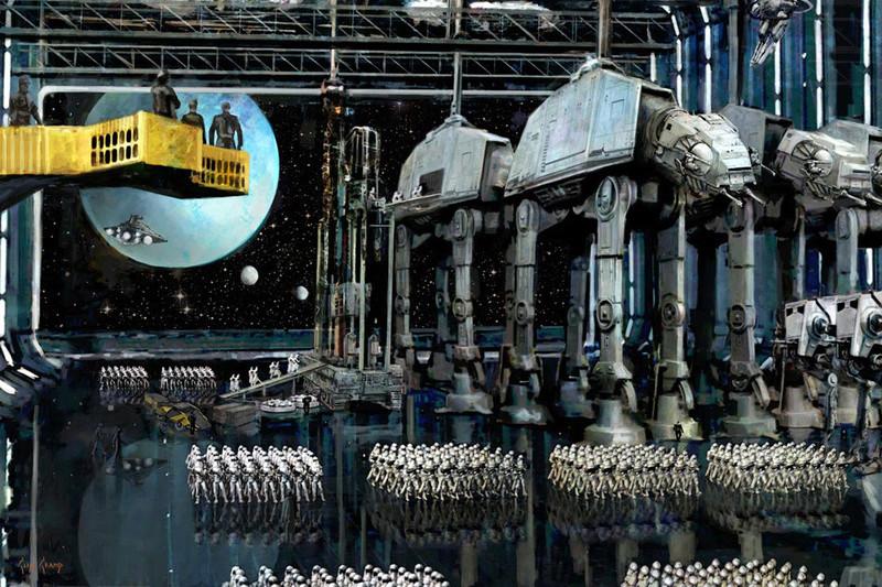 Artwork Star Wars - ACME - Imperial Staging Imperi11