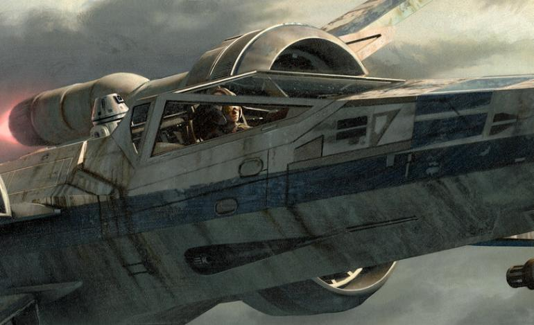 Artwork Star Wars - ACME - Incom T-70 Tearin It Up Incom_10