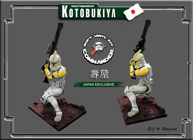 Kotobukiya  - Clone Trooper Jaune LE 2003 ARTFX Statue J_clon10