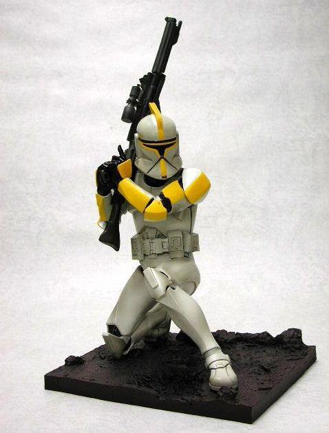 Kotobukiya  - Clone Trooper Jaune LE 2003 ARTFX Statue J_clon11
