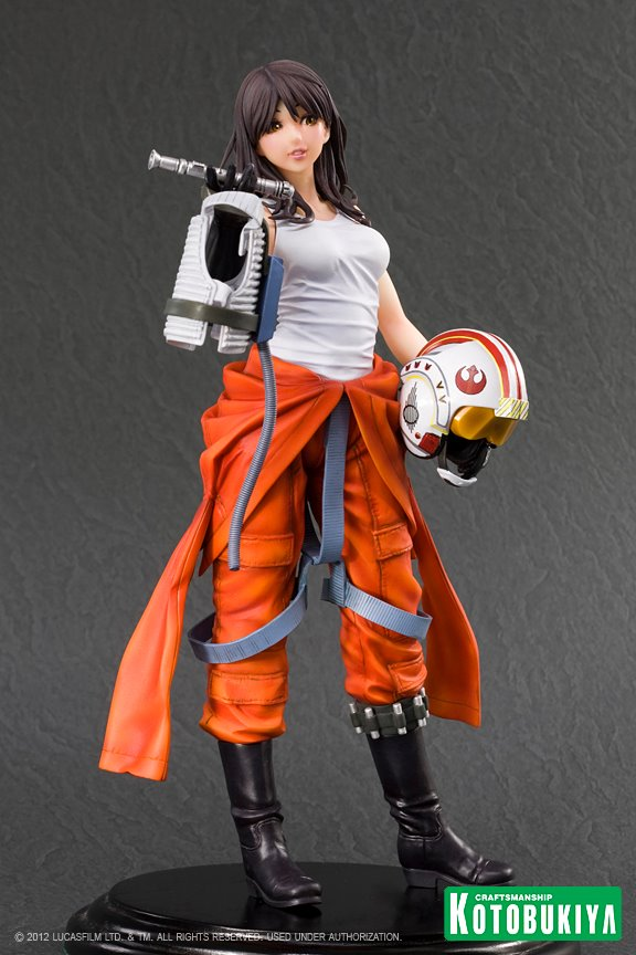 Kotobukiya -  Jaina Solo X-Wing Pilot Bishoujo Statue - Page 2 Jaina012