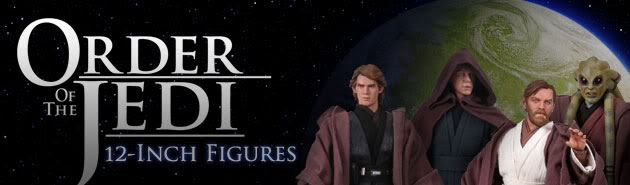 Sideshow Collectibles - Order of the Jedi - 12 inch Figures Jedior10
