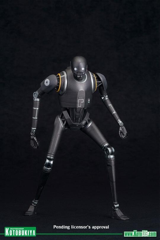 Kotobukiya SW - Rogue One: 1/10 Scale ArtFX+ Statue - K-2SO K-2s0_11