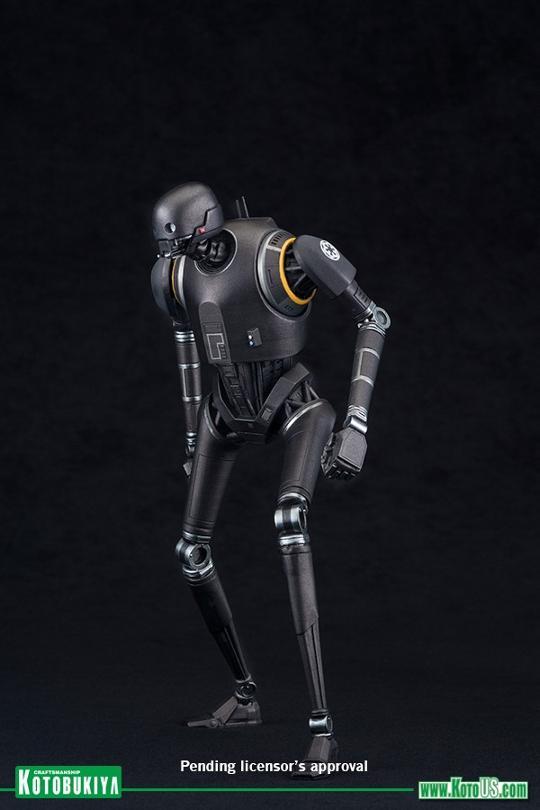Kotobukiya SW - Rogue One: 1/10 Scale ArtFX+ Statue - K-2SO K-2s0_12