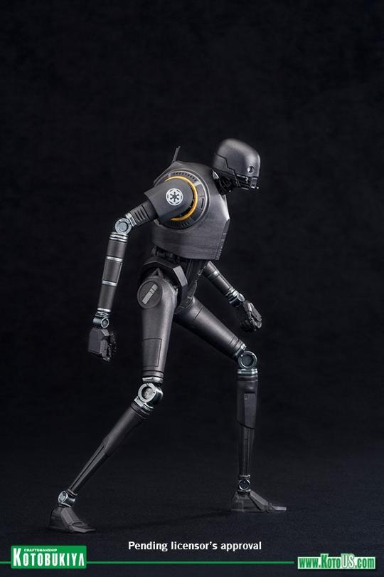 Kotobukiya SW - Rogue One: 1/10 Scale ArtFX+ Statue - K-2SO K-2s0_13