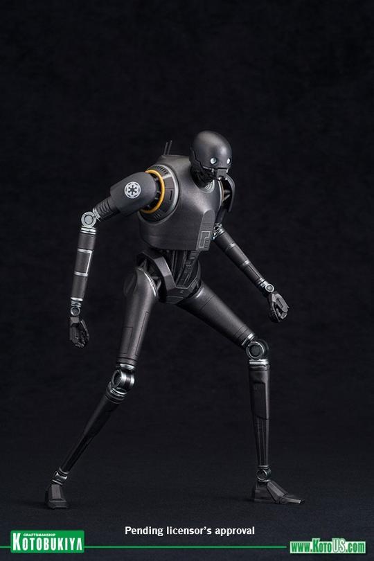 Kotobukiya SW - Rogue One: 1/10 Scale ArtFX+ Statue - K-2SO K-2s0_14