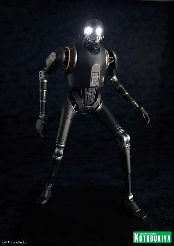 Kotobukiya SW - Rogue One: 1/10 Scale ArtFX+ Statue - K-2SO K-2s0_17
